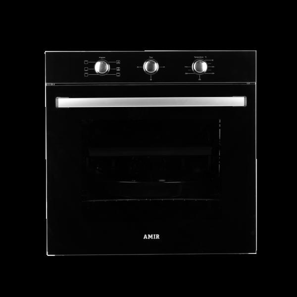 Электрический духовой шкаф  AMIR AM 614 BLACK GLASS