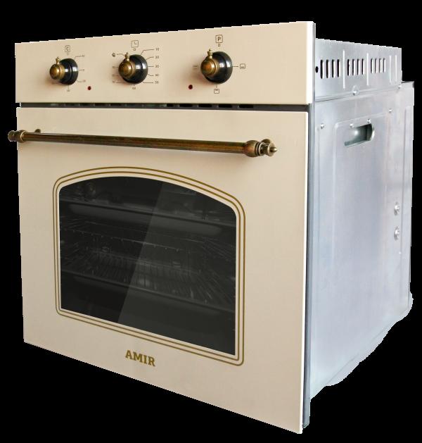 Электрический духовой шкаф  AMIR BE3 M RSTK