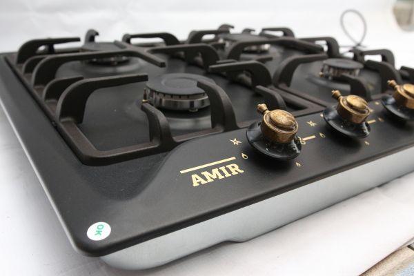 Газовая варочная панель AMIR PG6040 RSTB
